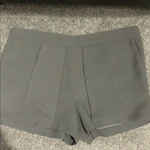 Forever 21 gray dress shorts large